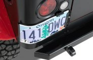Warrior® - License Plate Bracket