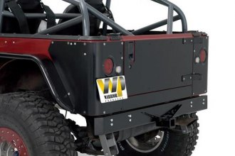 Image may not reflect your exact vehicle! Warrior® - Rear Bumper