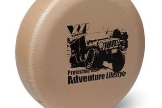 Warrior® - Lifestyle Protection Logo Spare Tire Cover