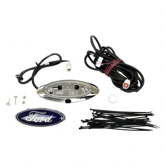 Brandmotion® - Factory Style Flush Mount Rear View Camera with Chassis Harness