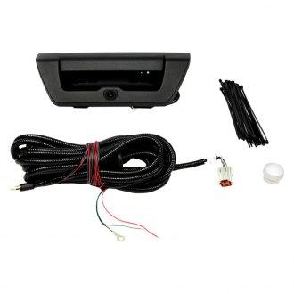 Brandmotion FLTW-7511 F150 Black Handle Rear Vision Camera W//Optional Gridlines 2015-Current