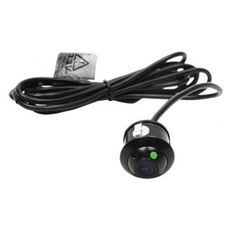 Brandmotion® - Bullet Flush Mount Rear View Camera with Factory Style Tailgate Harness