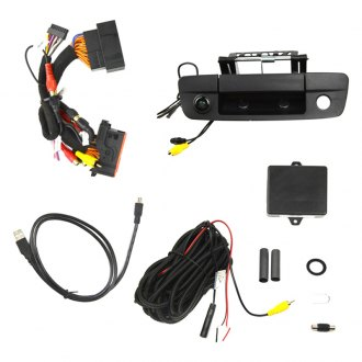 Brandmotion® - Tailgate Handle Mount Rear View Camera with Interface