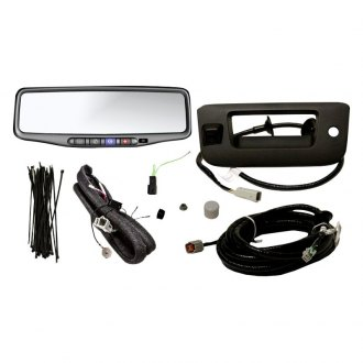 "Brandmotion® - Rear View Mirror with Built-in 4.3"" Monitor and Tailgate Handle Mount Camera"