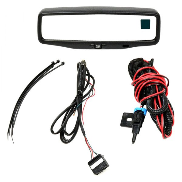 "Brandmotion® - Factory Style Rear View Mirror with Built-in 3.5"" Monitor and Compass/Temperature Gauge"