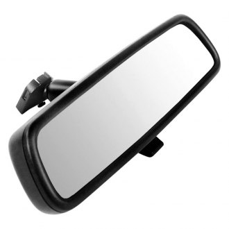"Brandmotion® - Slimline Factory Style Rear View Manual Dimming Mirror with Built-in 3.5"" Monitor"