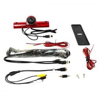 Brandmotion® - 3rd Brake Light Mount Rear View Camera with Night Vision