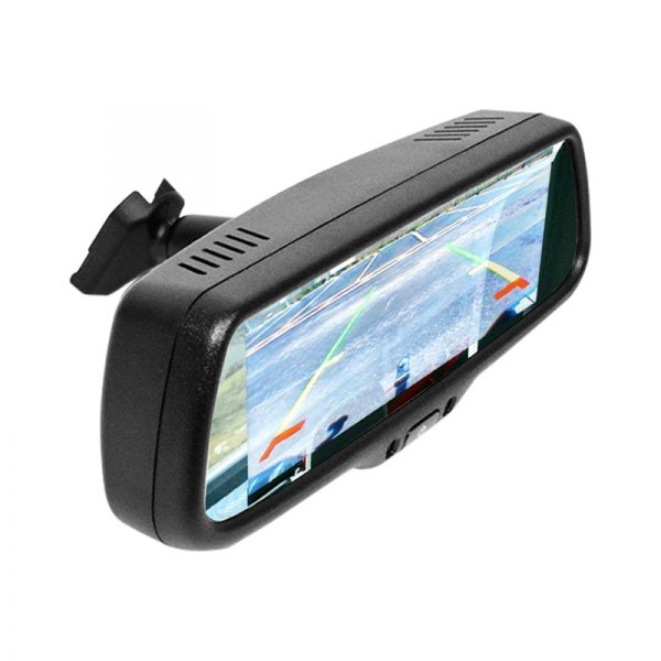 Brandmotion® - Rear View Mirror with Display