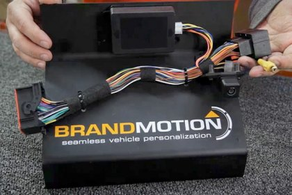 9002-2733 - Brandmotion® Camera Interface for Factory Display Radio (HD)