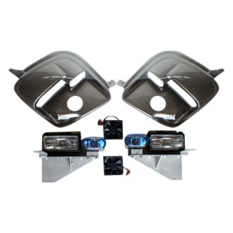 Breathless Racing® - Lemans Style Gray Euro Headlights