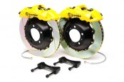 Brembo® - GT Series Slotted Yellow Brake Kit (6-Piston Caliper, 2-Piece Rotor)