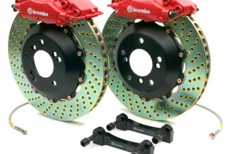 Brembo® - GT Series Cross Drilled Brake Kit