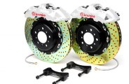 Brembo® - GT Series Cross Drilled Custom Painted Brake Kit