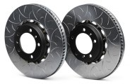 Brembo® - GT Series Rear Slotted Brake Disc Upgrade