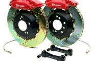 Brembo® - GT Series Slotted Brake Kit