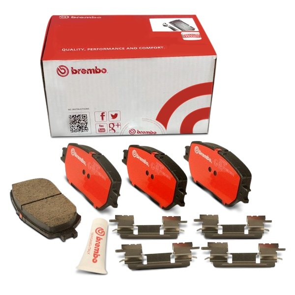 Brembo Brake Pads >> Brembo Ceramic Brake Pads