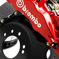 Brembo® - GT-R Series Drilled Brake Rotor