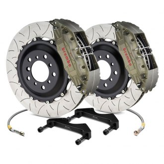 Brembo® - Racing Series Slotted Type III 2-Piece Rotor Brake Kit