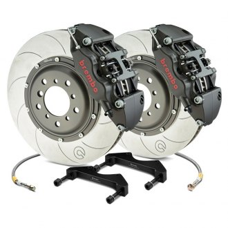 Brembo® - Racing Series Slotted Type V 2-Piece Rotor Brake Kit