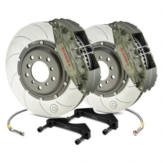 Brembo® - Racing Series Slotted Type V 2-Piece Rotor Front Brake Kit