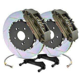 Brembo® - Racing Series Slotted Type I 2-Piece Rotor Brake Kit