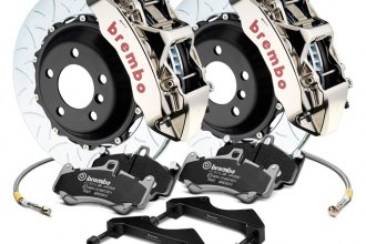 Brembo® - GT-R Series Curved Vane Type III 2-Piece Rotor Brake Kit