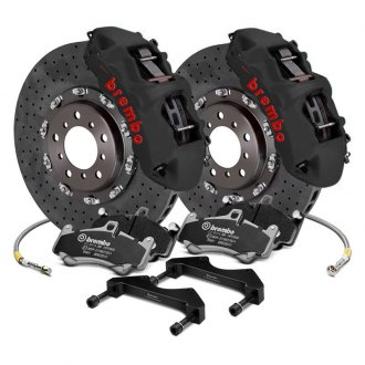 Brembo® - GT-S Series CCM-R Cross Drilled 2-Piece Rotor Big Brake Kit