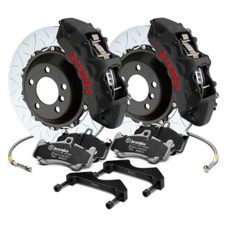 Brembo® - GT-S Series Curved Vane Type III 2-Piece Rotor Big Brake Kit