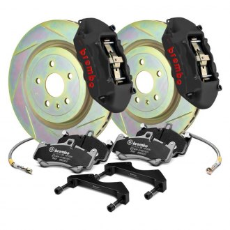 Brembo® - GT-S Series Slotted 1-Piece Rotor Front Big Brake Kit