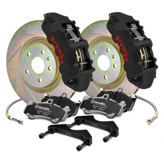 Brembo® - GT-S Series Slotted 1-Piece Rotor Big Brake Kit