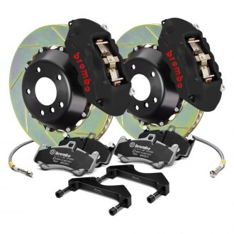 Brembo® - GT-S Series Slotted 2-Piece Rotor Big Brake Kit