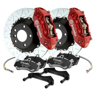 Brembo® - GT Series Curved Vane Type III 2-Piece Rotor Front Brake Kit