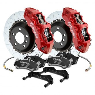 Brembo® - GT Series Curved Vane Type III 2-Piece Rotor Big Brake Kit
