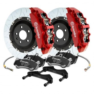 Brembo® - GT Series Curved Vane Type III Rotor Brake Kit