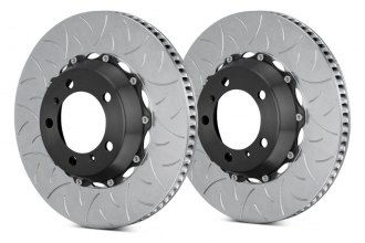 Brembo® - GT Series Curved Vane Type III Brake Rotors