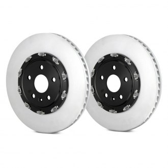 Brembo® - GT Series Plain Vented 2-Piece Front Brake Rotors
