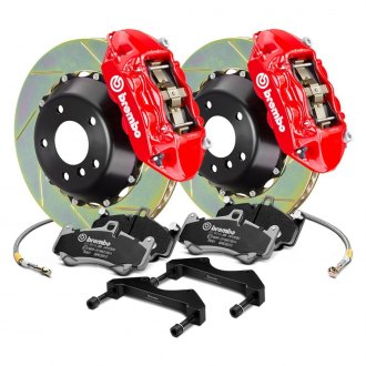 Brembo® - GT Series Slotted 2-Piece Rotor Front Big Brake Kit