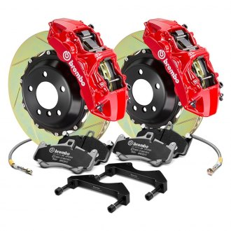 Brembo® - GT Series Slotted 2-Piece Rotor Big Brake Kit