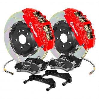 Brembo® - GT Series Slotted 2-Piece Rotor Brake Kit