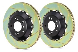 Brembo® - GT Series Slotted 2-Piece Rotors