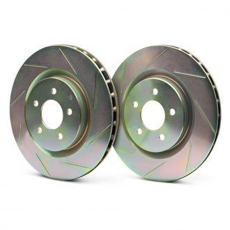 Brembo® - Sport Slotted 1-Piece Rear Brake Rotors