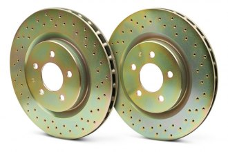 Brembo® - Sport Drilled Front Rotors