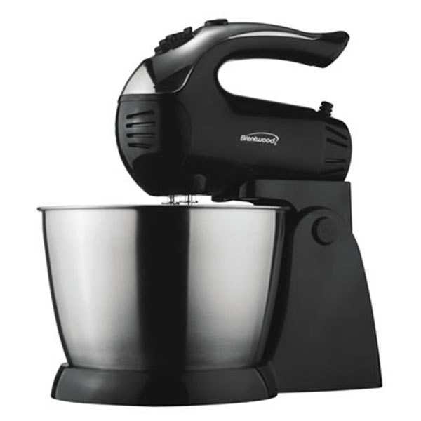 Brentwood Appliances® SM1153 - Black 5-Speed Stand Mixer