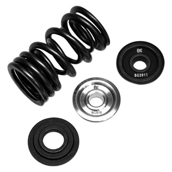 Brian Crower® - Dual Spring and Titanium Retainer Kit with Seat