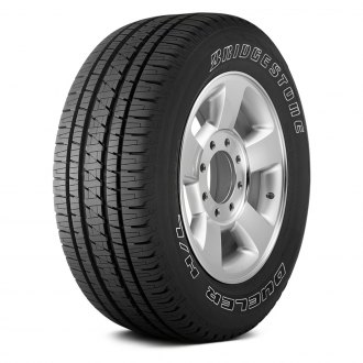 BRIDGESTONE® - DUELER H/L ALENZA WITH OUTLINED WHITE LETTERING