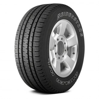 BRIDGESTONE® - DUELER H/L ALENZA PLUS WITH OUTLINED WHITE LETTERING