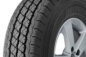 BRIDGESTONE® - DURAVIS R500 HD Tire Protector Close-Up