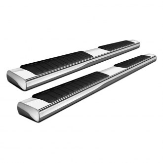 "Broadfeet® - 4"" Luna Series Polished Oval Side Bars"
