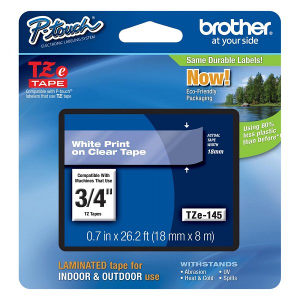 Brother® - TZ Lettering Label Tape