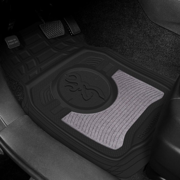 Browning Lifestyle® - Heather Gray Floor Mats
